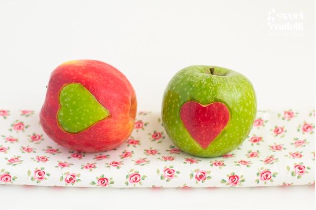 Manzanas con Corazón