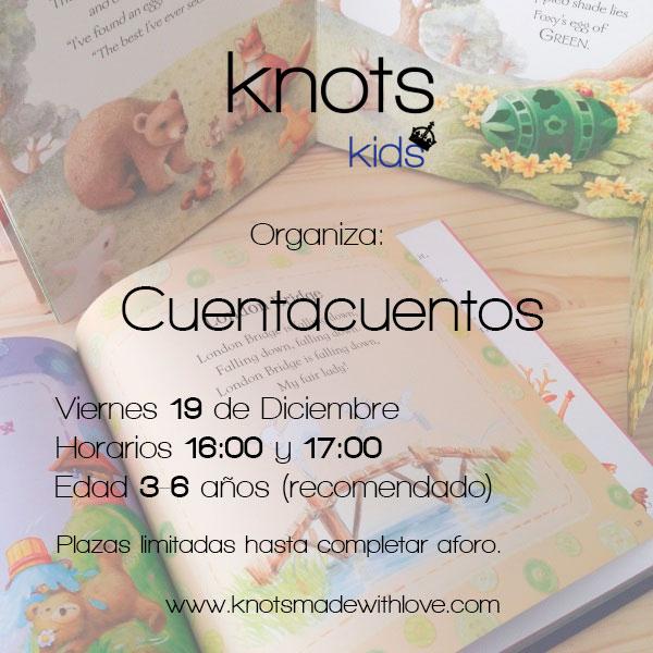 Cuentacuentos organizado por knots made with love y knots kids en Diferente Market organizado por Madrid Diferente.