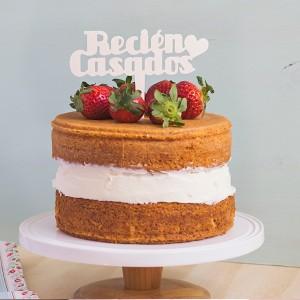 ADORNOS TARTAS CAKE TOPPERS BODAS RECIEN CASADOS