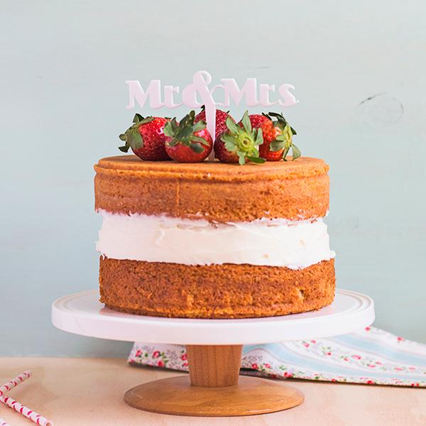 ADORNOS TARTAS CAKE TOPPERS BODAS MR & MRS