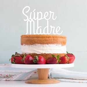 ADORNOS TARTAS CAKE TOPPERS PERSONALIZADO DIA DE LA MADRE