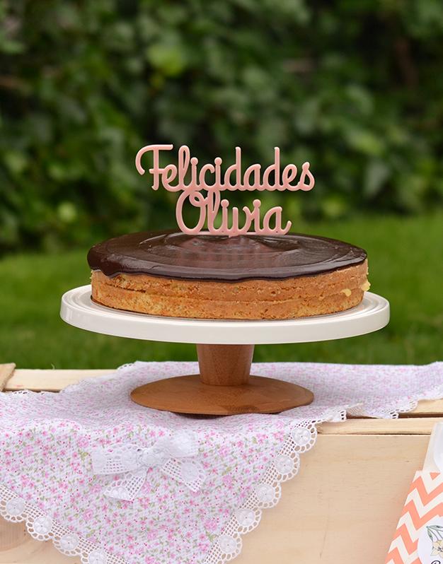 Adornos tartas cake toppers personalizados para cumpleaños felicidades personalizado con el nombre