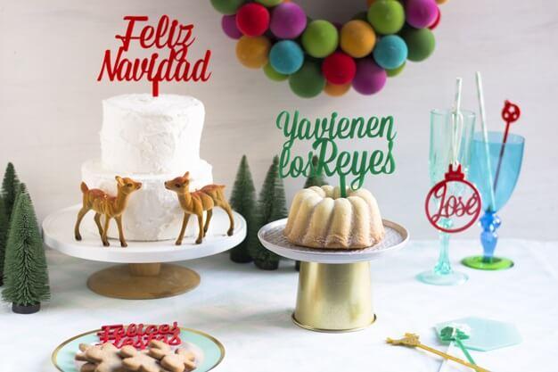Ya vienen Los Reyes cake topper adorno para tarta Knots made with love la decoración perfecta para tu roscón de reyes. ¡Descubre los colores disponibles!