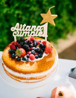 Adornos tartas cake toppers personalizados AITANA CUMPLE 1