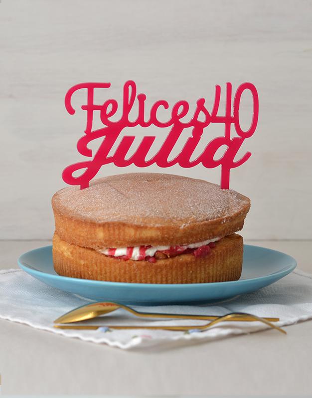 Adornos tartas cake toppers personalizados para cumpleaños personalizado con el nombre y la edad