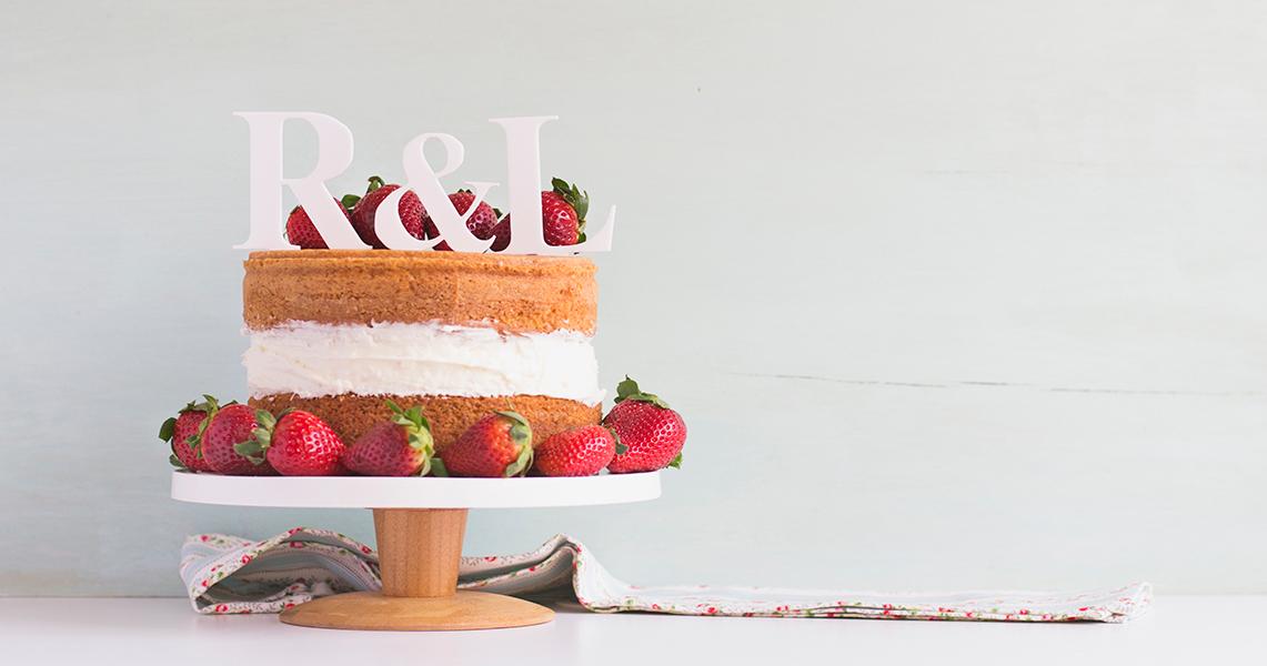 Cake topper para boda