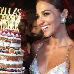 adorno para la tarta de Paula Echevarría