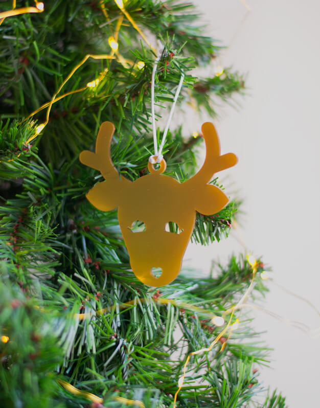 Adorno Navidad en forma de reno