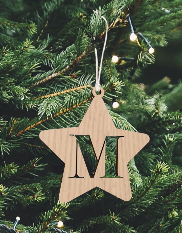 Un adorno navidad MADERA 626x798