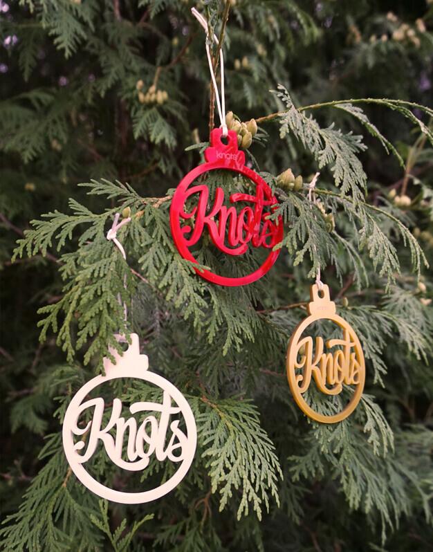 Adorno Navidad Personalizado con el nombre - Knots made with love