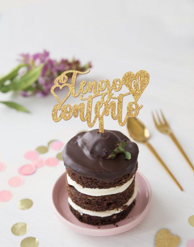 TENGO-EL-CORAZON-CONTENTO-KNOTS-CAKE-TOPPER