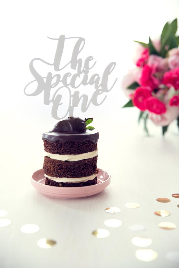 Cake topper de boda The Special One