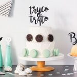 Adornos para tartas cake toppers personalizados knots made with love colección halloween scaryknots