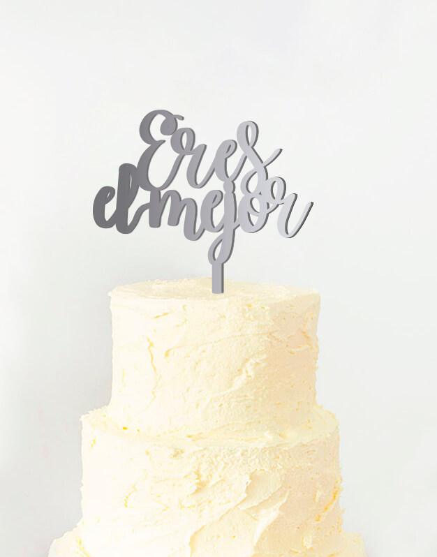 Eres el mejor cake topper adorno para tarta es un regalo perfecto para regalar a tu amigo, padre, hermano, o quien necesita ese ánimo. ¡Regálaselo!