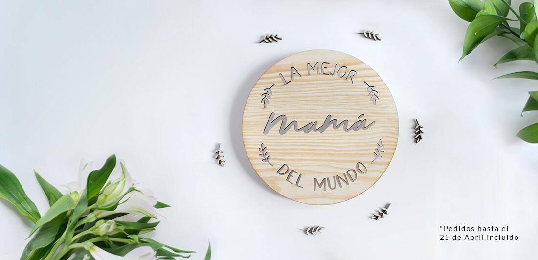 Regalo del Día de la Madre. Diseño único de knots made with love