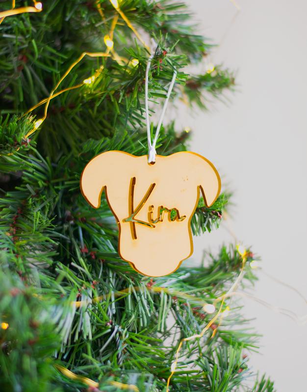 Adorno Navidad Personalizado perro NaviDog. ¡Decora tu hogar con #naviknots, los adornos navideños que triunfan entre las celebrities! Descúbrelos