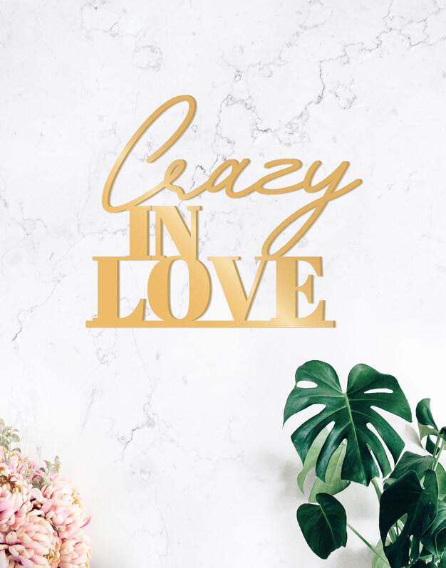 Crazy in love cartel siluetapara boda y eventos, este cartel de diseño quedará fantástico como fondo de phtocall o en la recepción de tu evento. Descúbrelo