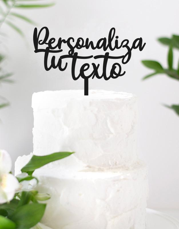 Cake Topper Personalizado adorno tarta para fiestas y eventos infantiles como cumpleaños, bodas, bautizos y otras celebraciones. ¡Descubrelos!