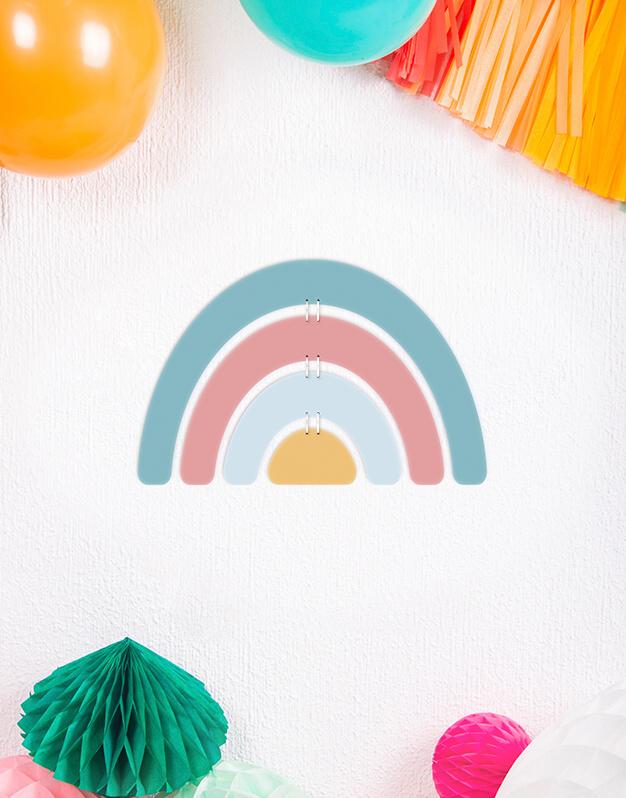 Arcoíris Adorno ParaPared Modelo 3. Da un toque de color a cualquier rincón de la casa. ¡Descubre más modelos! Knots made with love