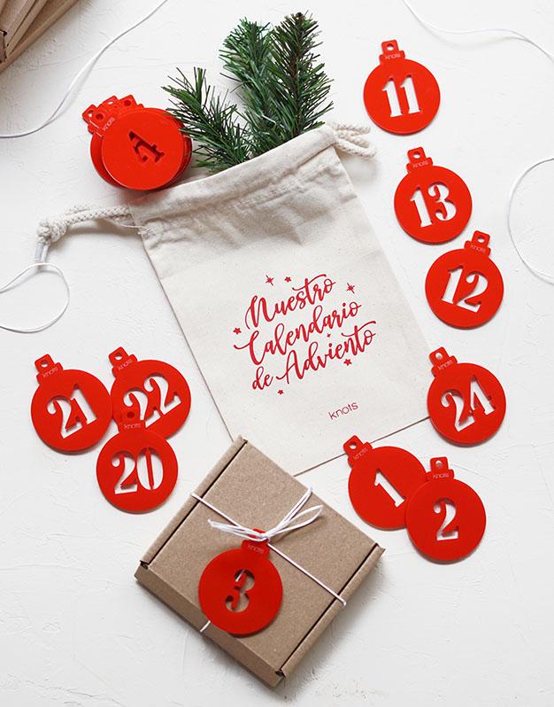 Si cada año preparas un calendario de Adviento DIY este año tenemos uno para que uses una y otra vez. Descubre este original calendario!